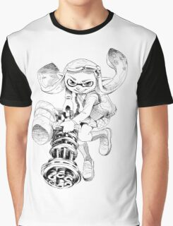 Splatling Girl Graphic T-Shirt