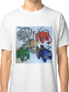 N64 Controllers Classic T-Shirt