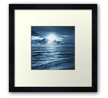 On Ocean Framed Print
