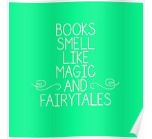 Books Magic Fairytales Green Poster