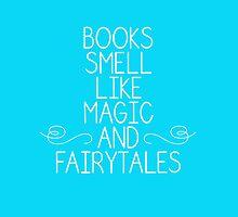 Books Magic Fairytales Blue by dandelionnwine