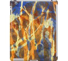 Native Grasslands Biodiversity 2A Acrylic Monoprint iPad Case/Skin