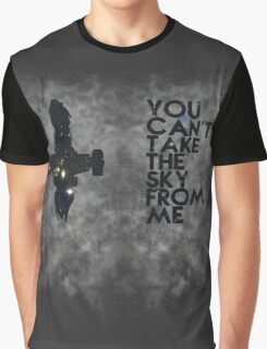 You Can't Take the Sky From Me - Oil Pastels Graphic T-Shirt