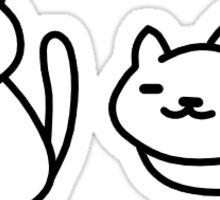 Neko Atsume - Snowball Sticker