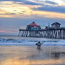 Surf City Huntington Beach by K D Graves Photography