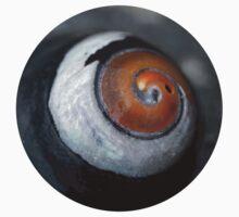 Black Turban Snail One Piece - Short Sleeve