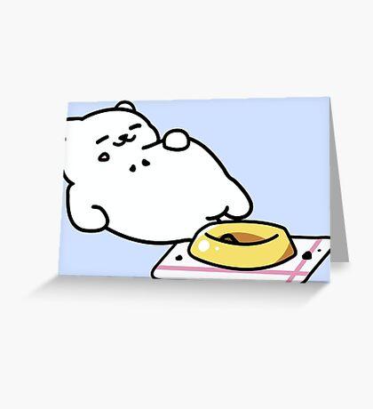 Neko Atsume - Tubbs Greeting Card
