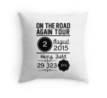 2nd August - Heinz Field OTRA  Throw Pillow