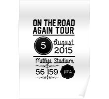 5th august - Metlife Stadium OTRA Poster