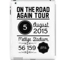 5th august - Metlife Stadium OTRA iPad Case/Skin