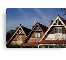 A-frame roofline Canvas Print