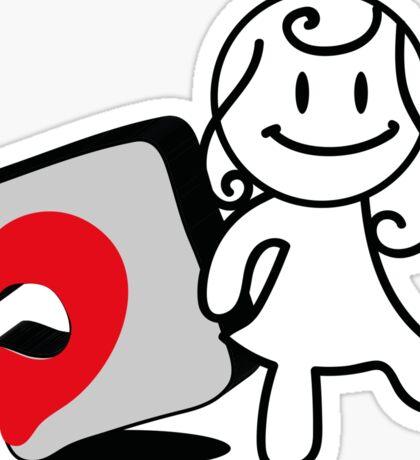 puzzle love1 Sticker