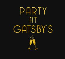 Party at Gatsby's (Gold on Black) Unisex T-Shirt