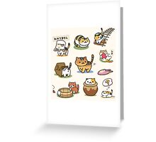 Neko Atsume - Deluxe Greeting Card