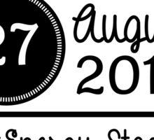 27th August - FirstEnergy Stadium OTRA Sticker