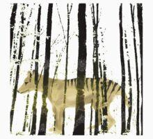 Thylacine by Anne Winkler Kids Tee