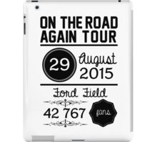29th August - Ford Field OTRA iPad Case/Skin
