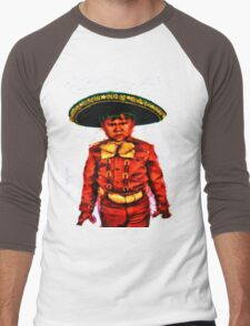 The Angry Mariachi Men's Baseball ¾ T-Shirt
