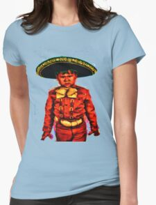 The Angry Mariachi Womens Fitted T-Shirt