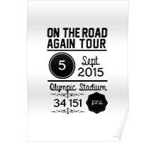 5th September - Olympic Stadium OTRA Poster