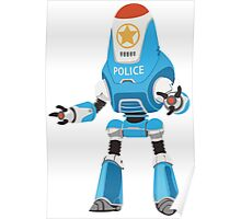 PROTECTRON: POLICE Poster