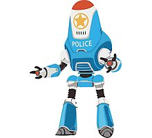 PROTECTRON: POLICE Photographic Print