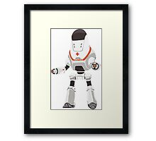 PROTECTRON: MEDIC Framed Print
