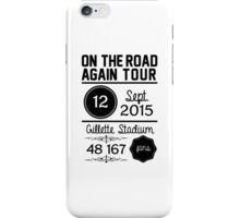 12th September - Gillette Stadium OTRA iPhone Case/Skin