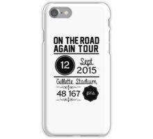 12th September - Gillette Stadium OTRA iPhone Case/Skin