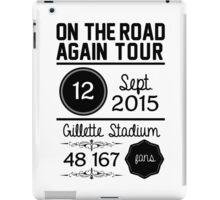 12th September - Gillette Stadium OTRA iPad Case/Skin