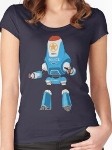 PROTECTRON: POLICE Women's Fitted Scoop T-Shirt