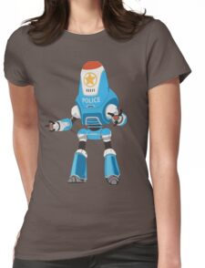 PROTECTRON: POLICE Womens Fitted T-Shirt