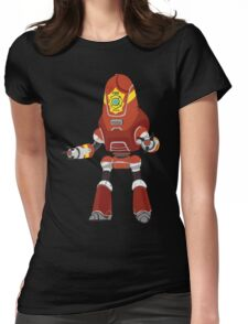 PROTECTRON: FIREMAN Womens Fitted T-Shirt