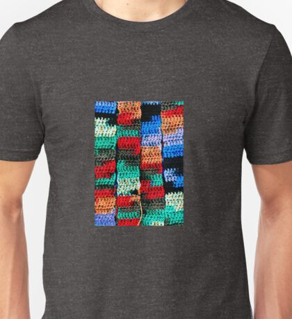 Crocheted Style Unisex T-Shirt