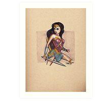 Amazonian Princess Art Print