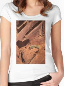 In The Rock Life Will Come Women's Fitted Scoop T-Shirt