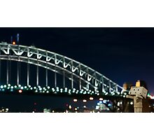 The Danbo Harbour Bridge Photographic Print