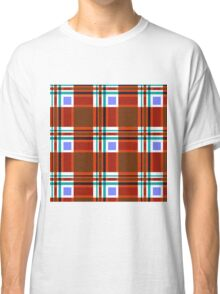 Plaid Abstract 10 Classic T-Shirt