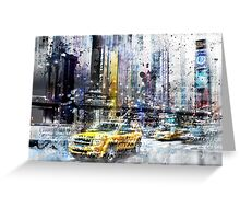 City-Art NYC Collage Greeting Card