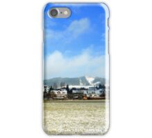 Hohenpeissenberg in the mist iPhone Case/Skin
