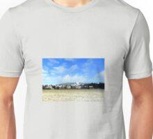 Hohenpeissenberg in the mist Unisex T-Shirt
