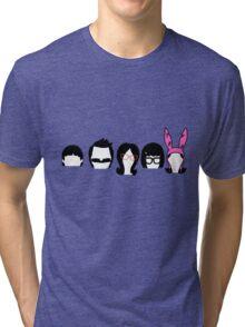 Bobs Burgers Belcher Line Up Tri-blend T-Shirt