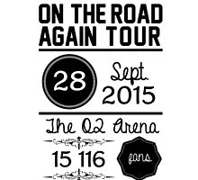 28th September - The O2 Arena OTRA by Bearhood