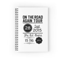 28th September - The O2 Arena OTRA Spiral Notebook