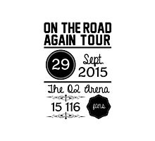29th September - The O2 Arena OTRA by Bearhood