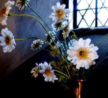 Flowers in the window Sticker