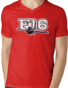 F16 Mens V-Neck T-Shirt