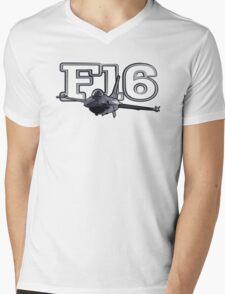 F16 Mens V-Neck T-Shirt