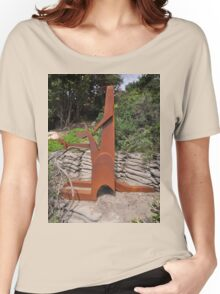 Young Gun,Sculptures By Sea,Australia 2015 Women's Relaxed Fit T-Shirt