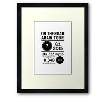 7th October - The SSE Hydro OTRA Framed Print